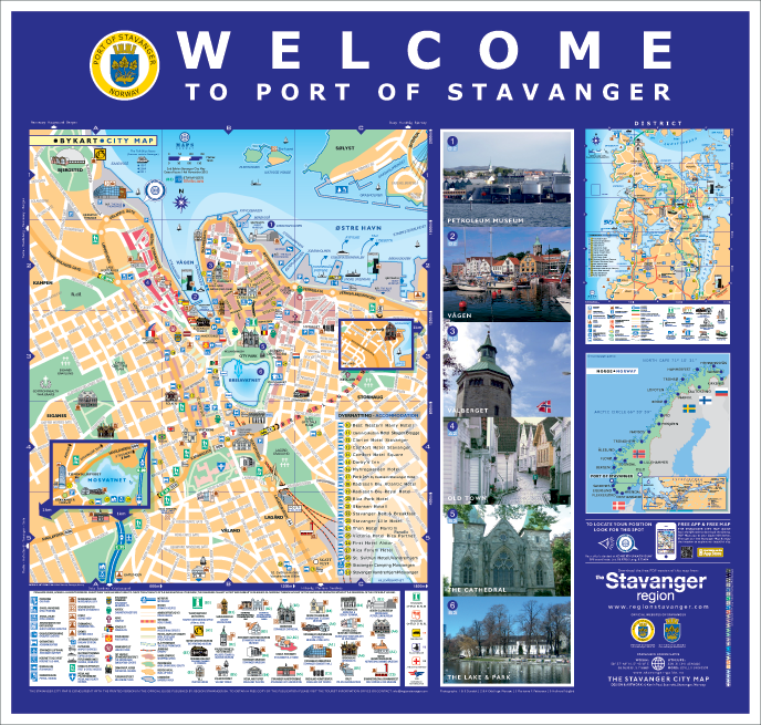 Stavanger Guide Maps Stavanger City Map Norway Corporate Maps - Norway map stavanger