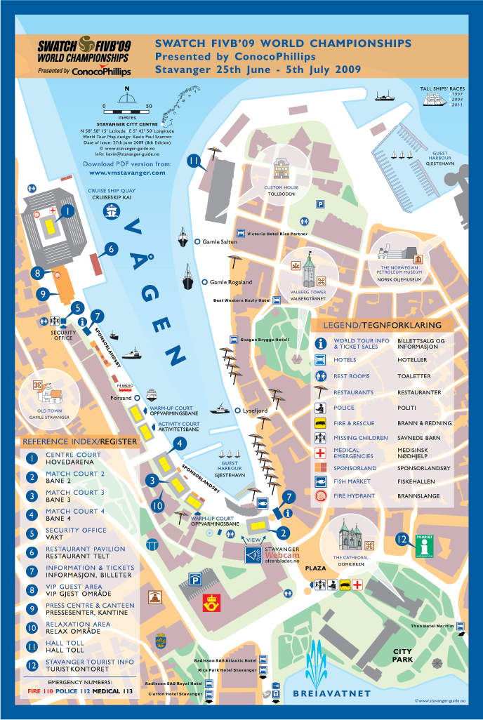 Stavanger Guide Maps Stavanger City Map Norway Corporate Maps - Norway map download pdf