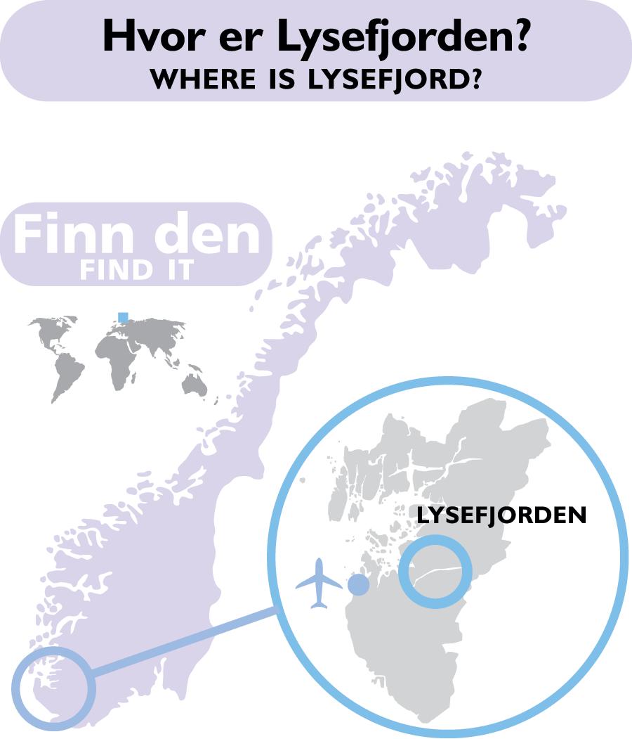 lysefjorden kart Lysefjord Map   Where is Lysefjord?   Kart over Lysefjorden   Hvor  lysefjorden kart