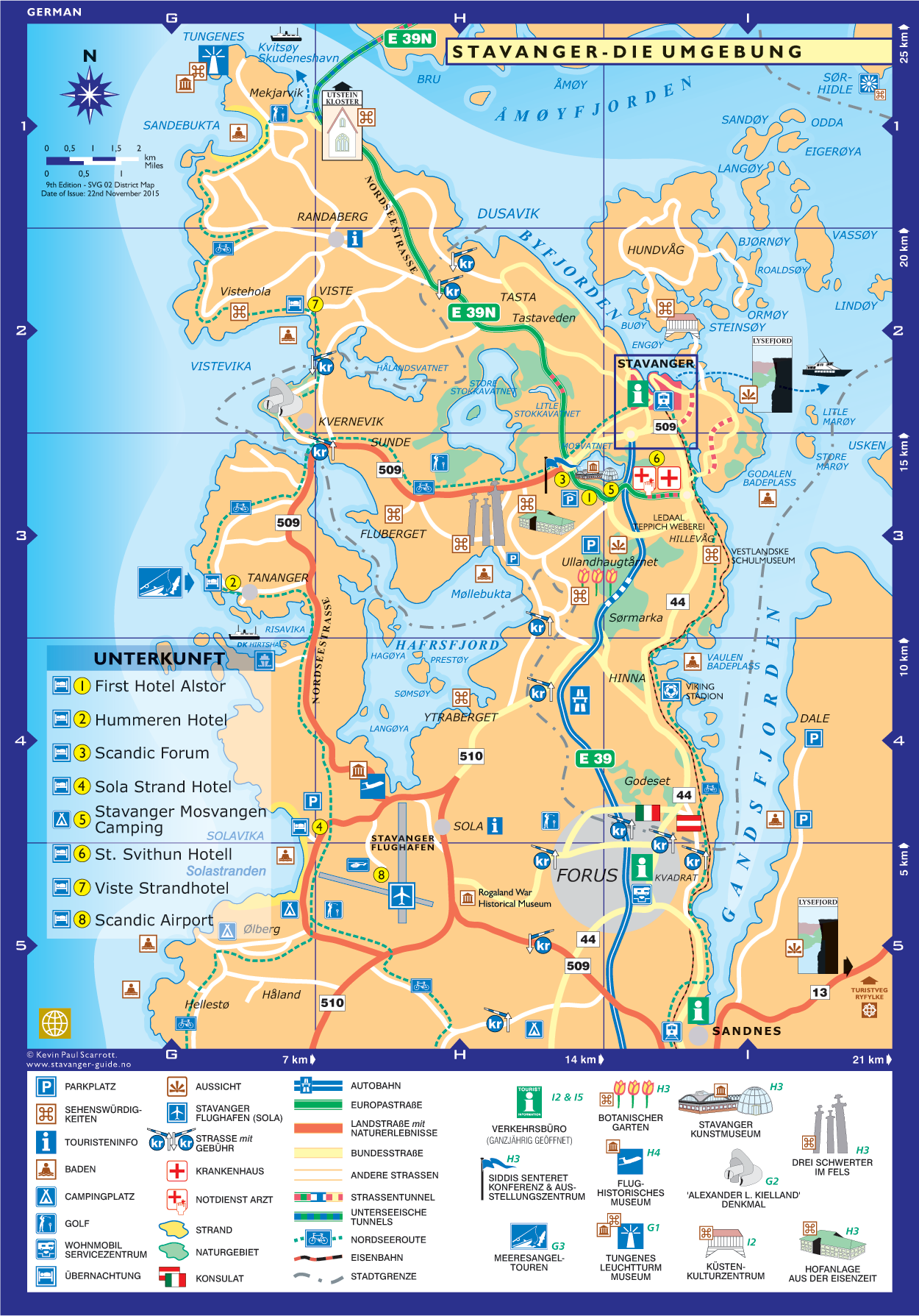 Stavanger - Die Umgebung