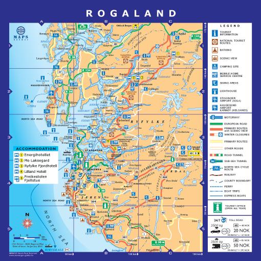 kart over stavanger Region Stavanger BA | Regional Map | Stavanger City Map  kart over stavanger