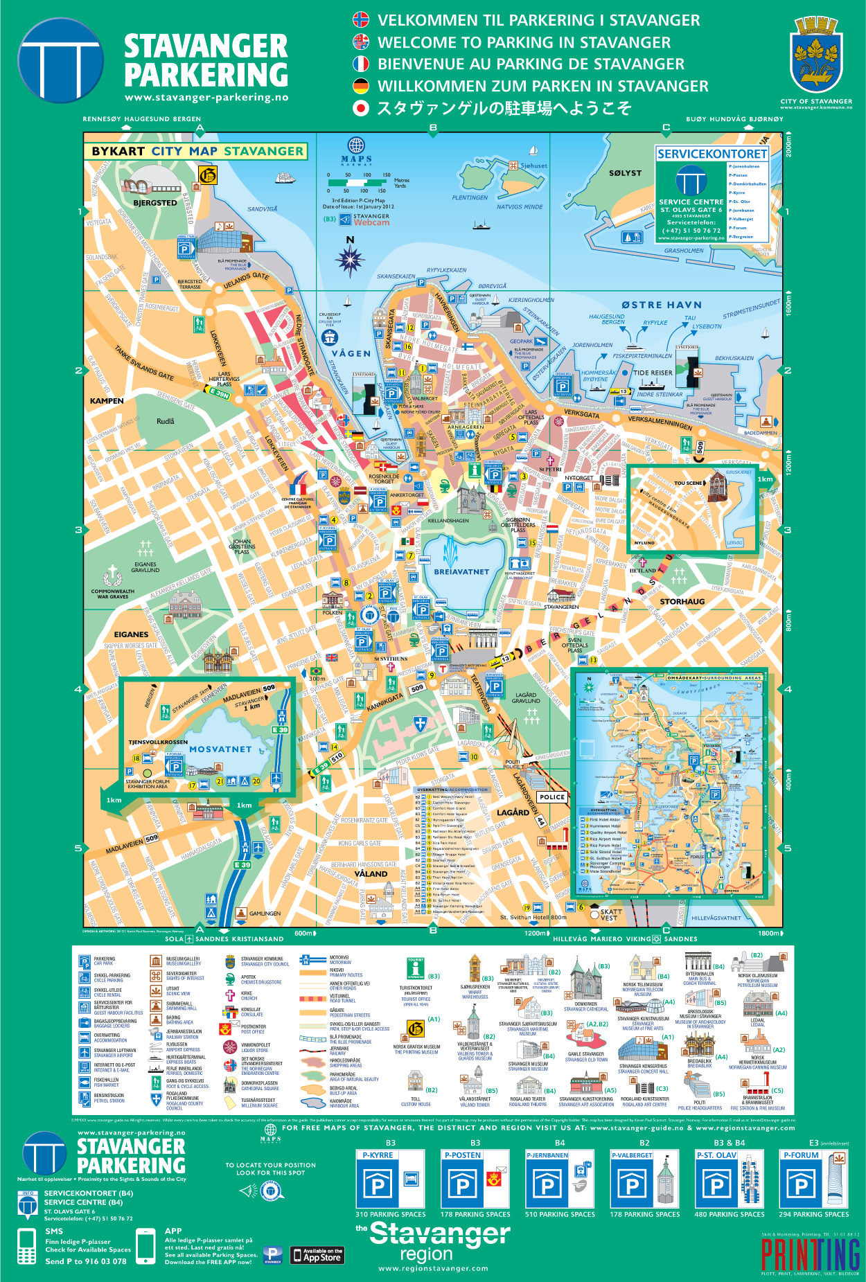 map norway rogaland stavanger.