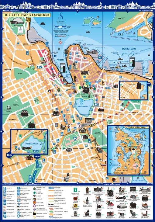 University Of Stavanger Norway - Norway universities map